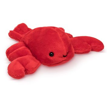 "Single Lobster Mini 4"" Small Stuffed Animal, Ocean Animal Toy, Sea Party Favor for Kids"