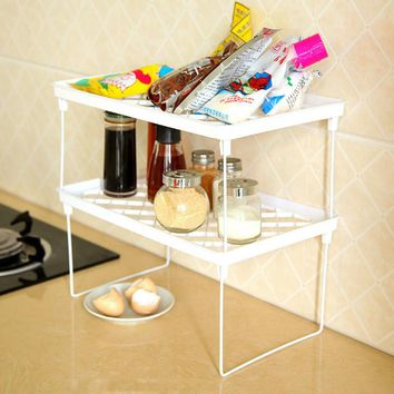 Foldable Storage Shelf Rack
