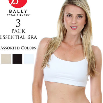 NEUTRAL BALLY ESSENTIAL FITNESS BRA PACK