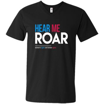 Hear Me Roar: Women's Rights are Human Rights T-Shirt