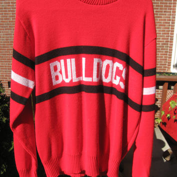Vintage Georgia sweater....UGA
