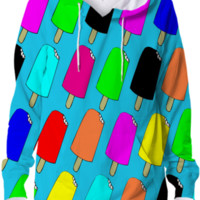 Popsicles Hoodie created by trilogy-anonymous | Print All Over Me