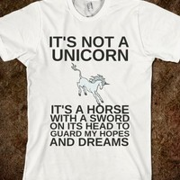IT'S NOT A UNICORN