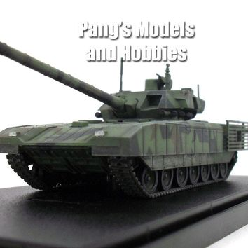 T-14 Armata Russian Main Battle Tank - 1/72 Scale Model by Modelcollect