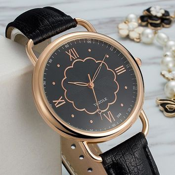 Ladies Watch Stylish Korean Quartz Watch [281920569373]