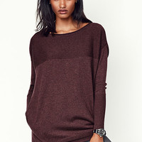 Boatneck Pocket Tunic - A Kiss of Cashmere - Victoria's Secret