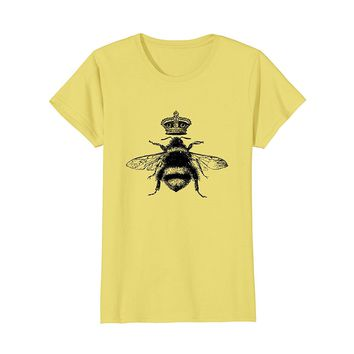 Queen Bee Shirt- Cute Beekeeper Vintage Chic Gift