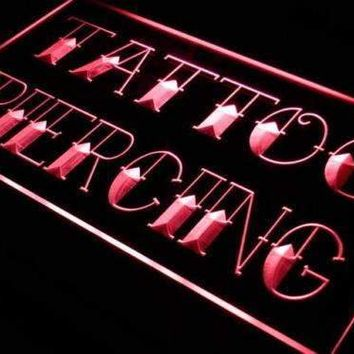 Tattoo Piercing Shop Neon Sign (LED)