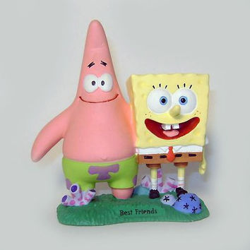 Spongebob and Patrick Best Friends Statue