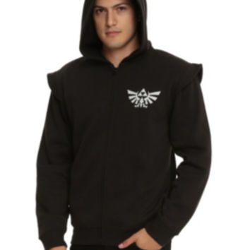 The Legend Of Zelda: Ocarina Of Time Dark Link Zip Hoodie