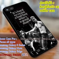 Charlie Hunnam Quote iPhone 6s 6 6s+ 6plus Cases Samsung Galaxy s5 s6 Edge+ NOTE 5 4 3 #quote dl3