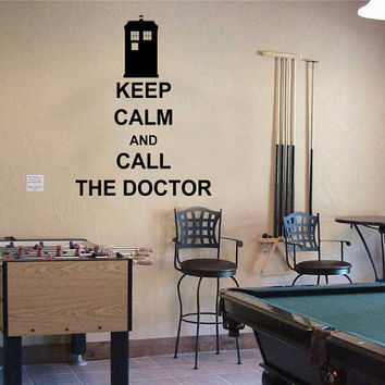 Keep Calm and Call the Doctor  Doctor Who Tardis Police by GDirect