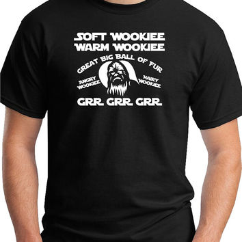Soft Wookiee Prayer. Big Bang Theory would be jealous. Star Wars fans get yours now.tee tsirt apparel
