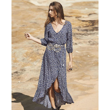 All Things Good Maxi Dress by Auguste