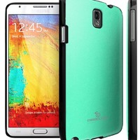 Galaxy Note 3 Case, Caseology [Matte Hybrid] Samsung Galaxy Note 3 Case [Turquoise Mint] Non-Slip Cover Shock Absorbent TPU Armor Bumper Galaxy Note 3 Case (for Samsung Galaxy Note 3 Verizon, AT&T Sprint, T-mobile, Unlocked)
