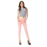 Pink Exotic Jeans