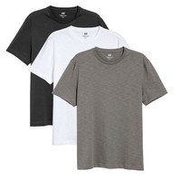 3-pack T-shirts Regular fit - from H&M
