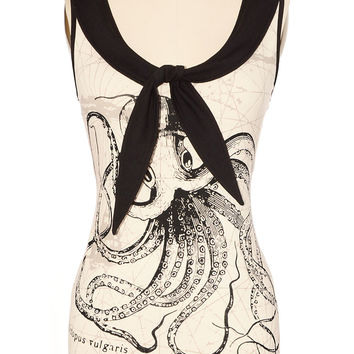 Call of the Kraken Sailor Top