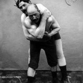 Wrestling Hold from Behind