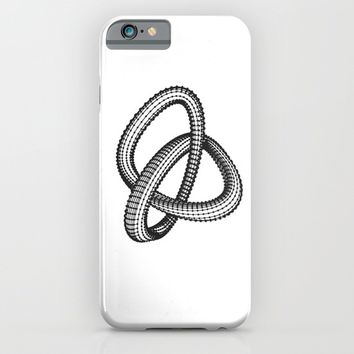 Shape 1 iPhone & iPod Case by White Print Design