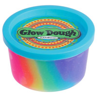 Rainbow Glow Dough | Putty & Goo