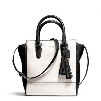 Coach :: New Legacy Mini Tanner Crossbody In Two Tone Leather