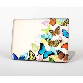 "The Colorful Vector Butterflies Skin Set for the Apple MacBook Pro 13"" with Retina Display"