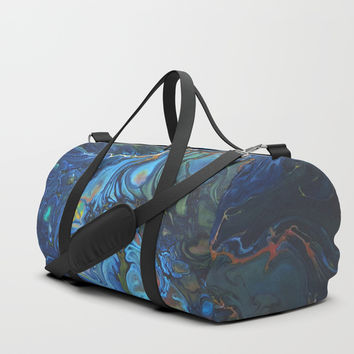 Organic Duffle Bag by DuckyB