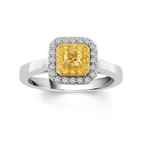 Sunshine Aura Ready for Love Engagement Ring Steven Singer Jewelers