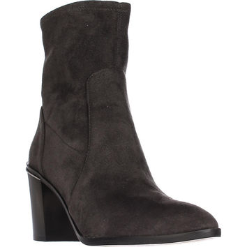 MICHAEL Michael Kors Chase Ankle Booties, Charcoal, 9.5 US / 40.5 EU