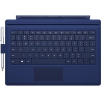 Microsoft - Surface Pro 3 Type Cover - Blue
