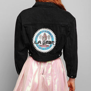 Urban Outfitters - Vintage '80s L.A. Gear Denim Jacket
