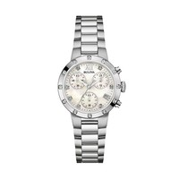Bulova Women's Stainless Steel Chronograph Watch - 96R202 (Grey)