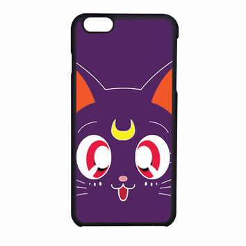 Sailor Moon Luna Kawaii Cat iPhone 6 Case