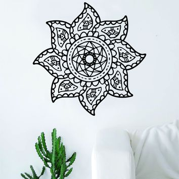 Mandala Boho Sun Decal Sticker Wall Vinyl Art Home Decor Teen Beautiful Yoga Namaste
