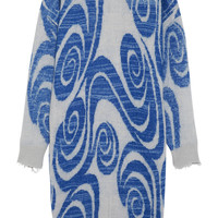 Acne Studios - Gia intarsia knitted sweater dress
