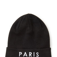 Paris Graphic Beanie
