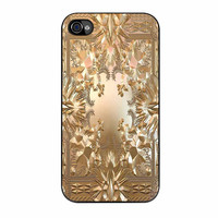 Jayz Kanye West Album Cover Watch The Throne iPhone 4 Case