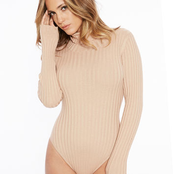Naked Wardrobe Knit & Run Bodysuit