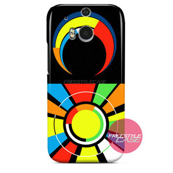 Valentino Rossi VR46 Sun Moon Logo HTC One Case M8 M7 One X Cover