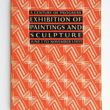 1933  Exhibition of Paintings and Sculpture Book