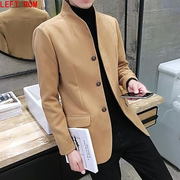 2017City Class mens windbreaker Autumn spring brand quality jackets and Back fork coats for male unique classic model size M-2XL