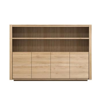 Oak Shadow High Sideboard by Ethnicraft