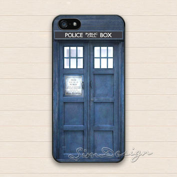 Tardis Doctor Who iPhone 5 Case,iPhone 5s Case,iPhone 4 4s Case,Samsung Galaxy S3 S4 Case,Dr Who Tardis Hard Plastic Rubber Cover Skin Case