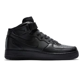 Men's Nike Air Force 1 Mid 07 Shoe - Black