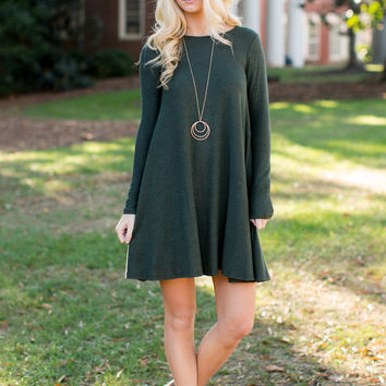 Linwood Dress - Olive
