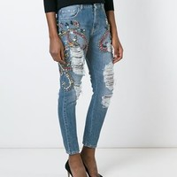 Marco Bologna Distressed Skinny Jeans - Farfetch