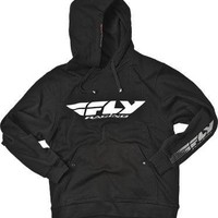 Fly Racing Corporate Hoody , Color: Black, Size: Lg, Size Segment: Youth 354-0031YL