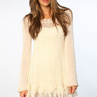 The Dreamy Tunic in Vanilla