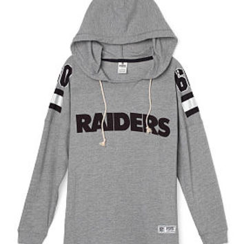 Oakland Raiders Pullover Hoodie - PINK - Victoria's Secret
